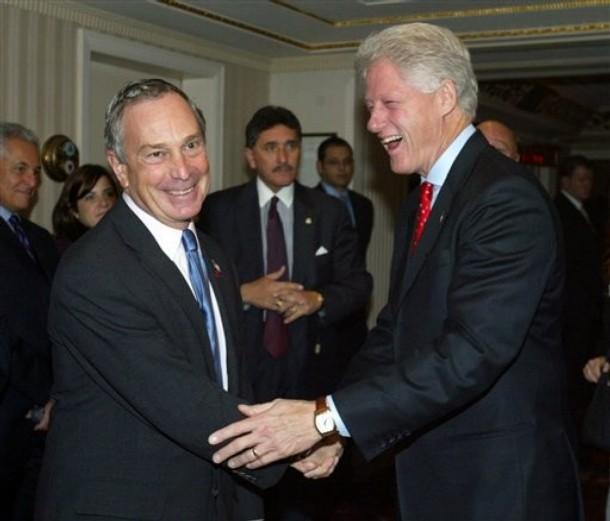 Bloomberg Clinton