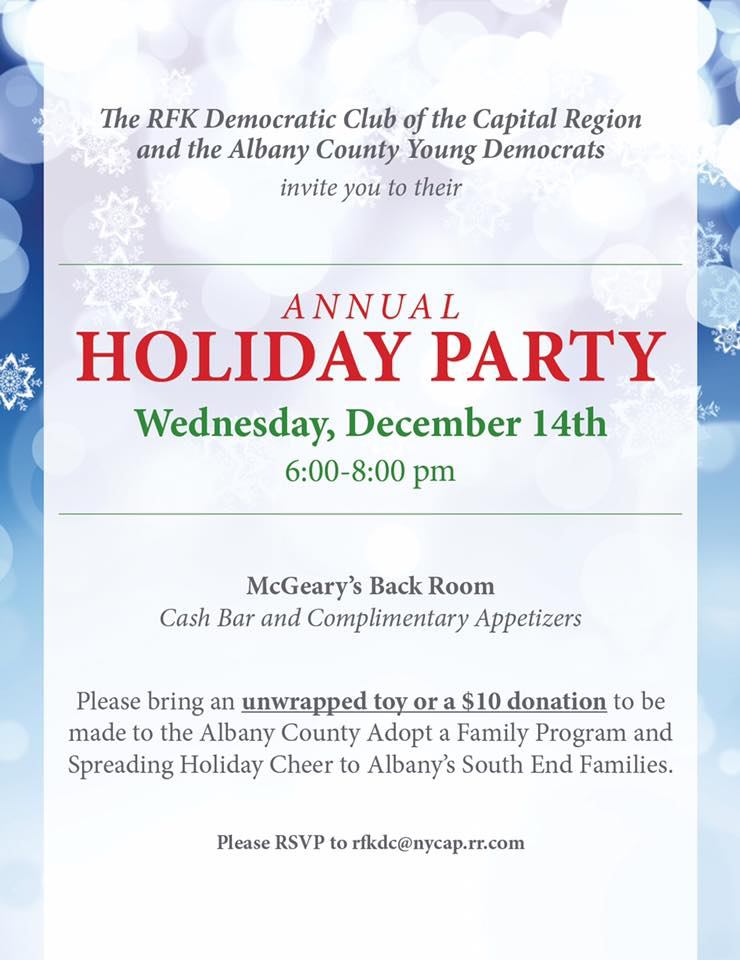 RFK and ACYD Annual Holiday Party to Help Those in Need