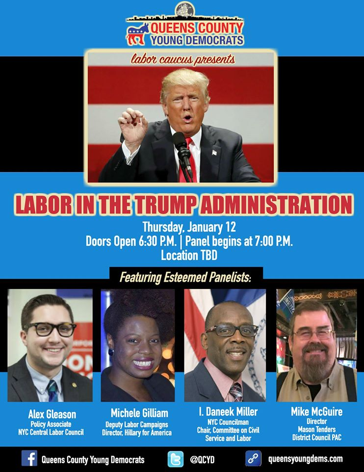 QCYD's Labor in the Trump Administration