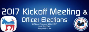 2017 Kickoff Meeting & Officer Elections