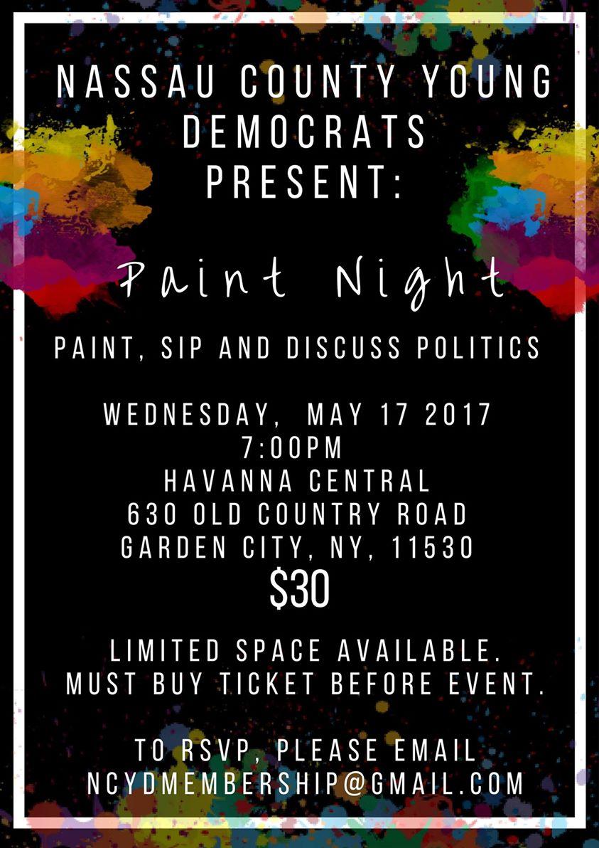 NCYD Paint Night
