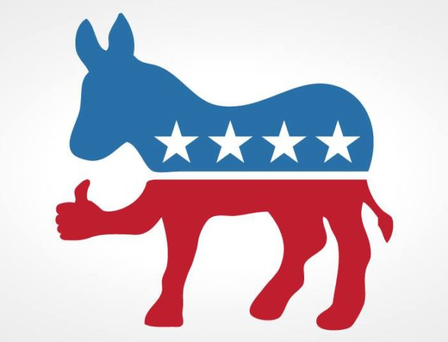Image of a Democratic Donkey Giving the Thumbs-Up
