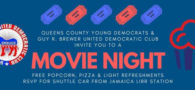QCYD & Guy Brewer Dem Club Movie Night