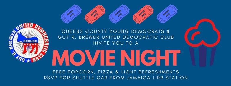 QCYD & Guy Brewer Dem Club Movie Night