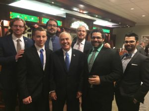 Saratoga Young Democrats with Comptroller Tom DiNapoli