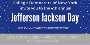 CDNY 2017 Jefferson Jackson Day
