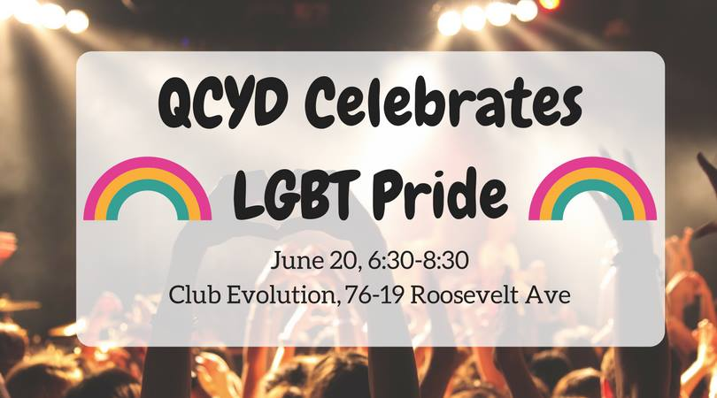 QCYD's Pride Month Celebration