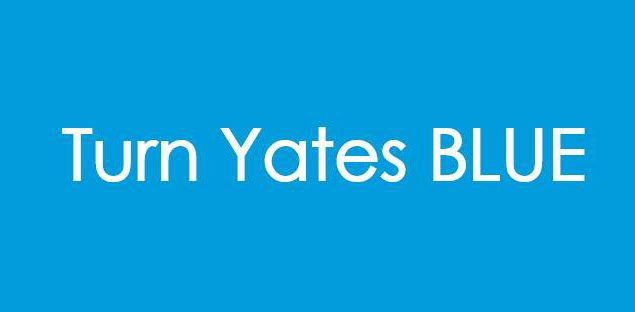 Turn Yates Blue