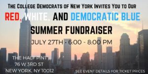 Red, White, and Democratic Blue Summer Fundraiser