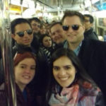 Attendees of #YDANYC on the 1 train