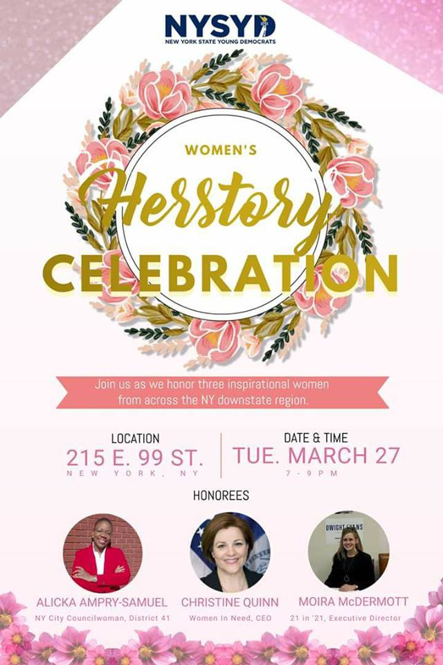 NYSYD HERstory Month Reception