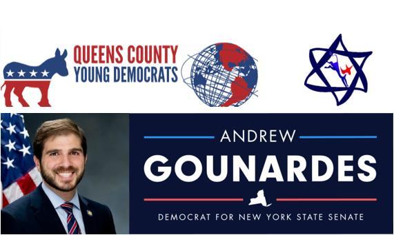 QCYD & NYS Jewish Caucus Phone Bank for Senator Andrew Gounardes