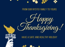 From our NYSYD family to yours: Happy Thanksgiving! Have a safe and healthy holiday.
