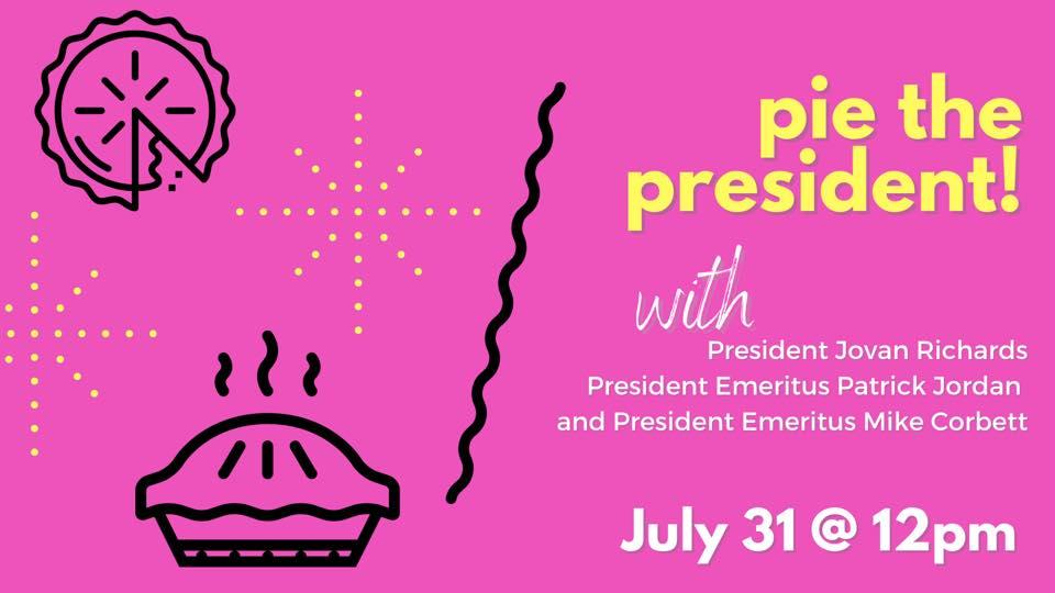 Pie the President